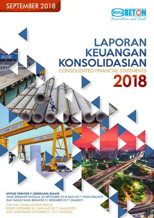 Q3 - 2018 Quarterly Financial Statement